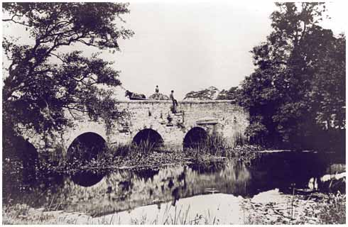 Iford Bridge in quieter days
