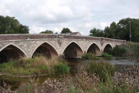 Julians Bridge: perennially falling victim to poor driving