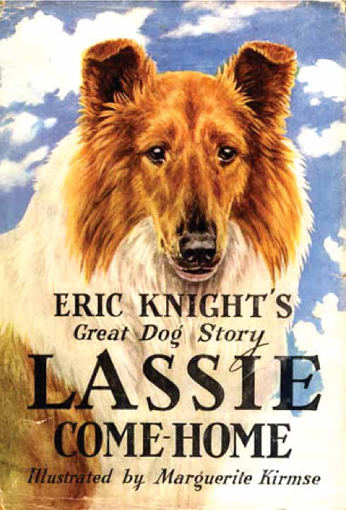 The 1940 book that inspired the film, but which must itself have been inspired by the Lyme Regis Lassie