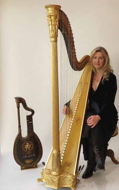 Sarah Deere-Jones will perform on a restored period instrument