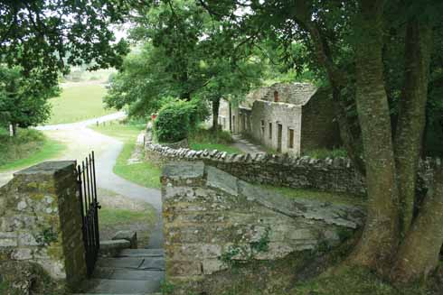 Tyneham as it is today: a memorial to a village no longer occupied