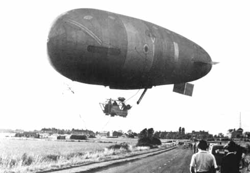 With Thomas York-Moore in command, Bournemouth crashed into a field near Cardington after suffering engine overheating and steering failure