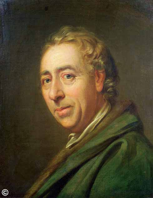 © Portrait of Lancelot 'Capability' Brown, c1770-75, by Richard Cosway (1742-1821) Private Collection Bridgeman Images