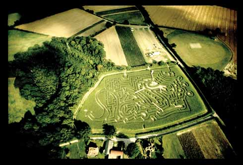 Maze at Tulleys Farm, Turners Hill, near Crawley