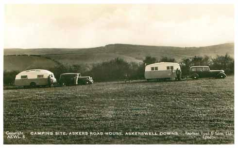 Even 1940s caravanning seems pioneering at the Askers Road House