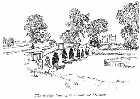 Julians Bridge on the way into Wimborne