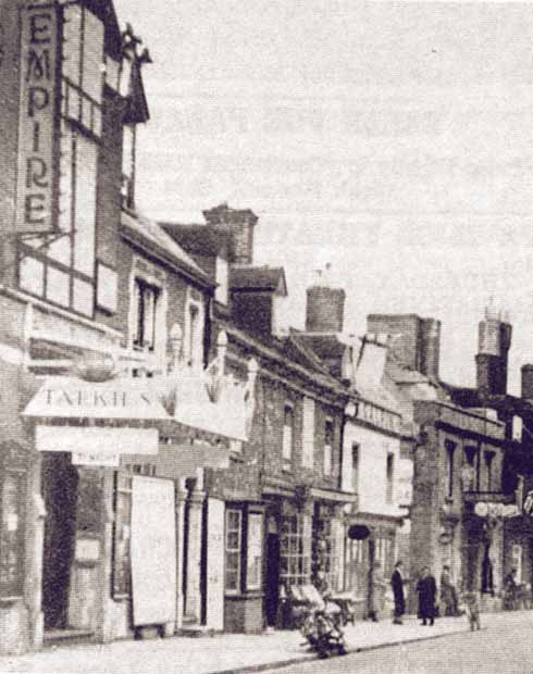 The Oddfellows Hall in its earliest cinema incarnation as the Empire