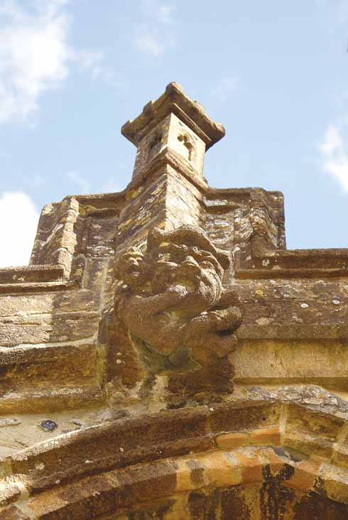 One of the  grotesques on St Mary's church bears more than a passing resemblence to the Rt Hon Ken Clarke QC MP in a pensive mood