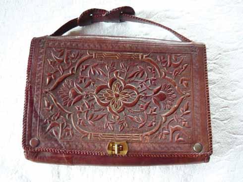 A handbag from Studland Art Industries