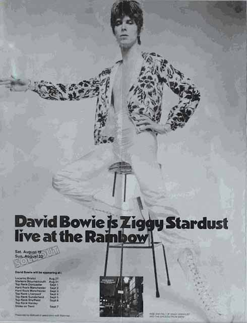 When Ziggy came to Starkers in Bournemouth