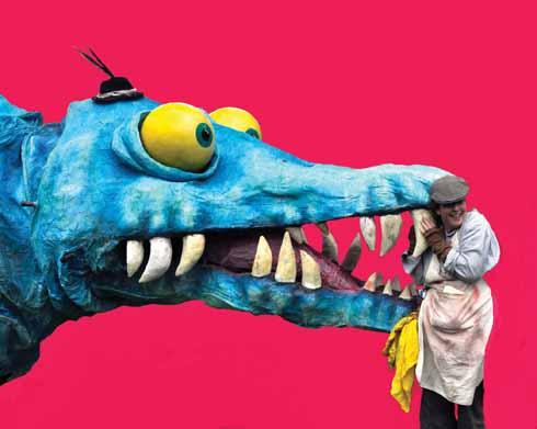 Horace the Pliosaur and Joe