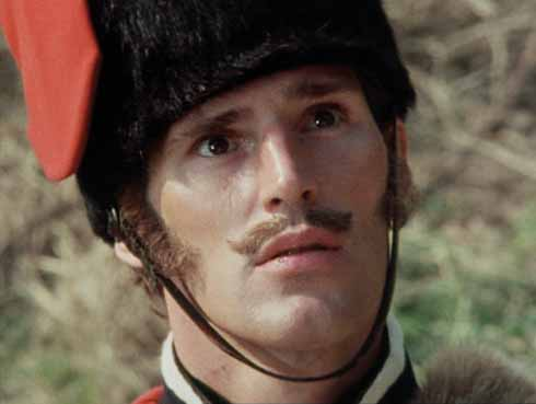 Ben Cross in pre-Chariots of Fire days as the eponymous Melancholy Hussar