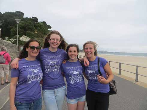 The 2016 'Sandwalk' along Poole and Bournemouth beaches raised £12,000  for Julia's House and Macmillan Cancer Support