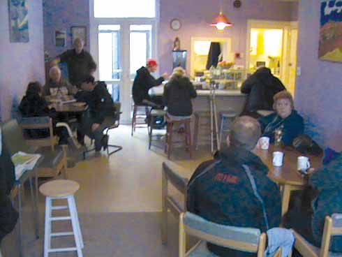 Cafe at the Lantern drop-in centre