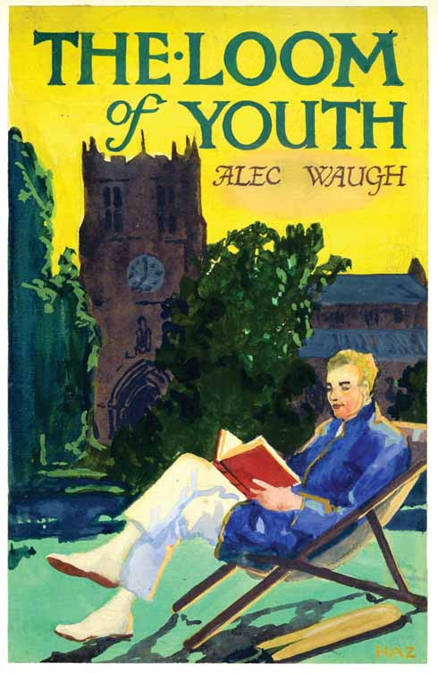Original design for the dust jacket for The Loom of Youth, 1917