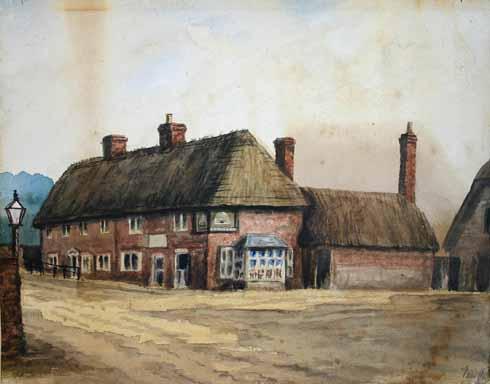 The old Beehive Inn, Wimborne