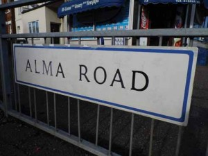 The effect of the Crimean War on the street names of Winton is clear to see, although the period is slightly muddled by Waterloo Road and Trafalgar Road, which are adjacent to Crimea road and both link Alma Road to Cardigan Road