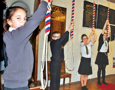 Children can quickly pick up the skills needed to ring the bells
