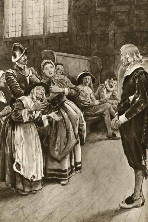 Examining witches was not always mired in observing legal due process (www.lookandlearn.com)