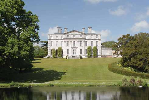 Not the ugliest campus in the world. Thomas Hardy used Kingston Maurward House as Knapwater House in Desperate Remedies.