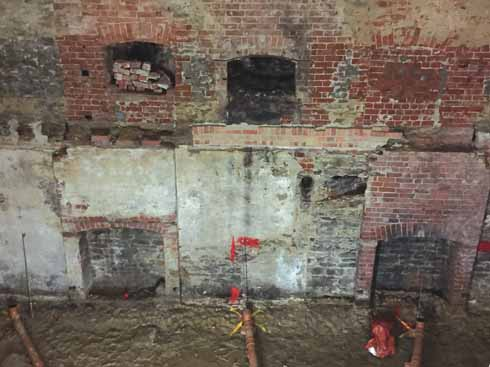 These pictures of the inside of the Bridport LSI reveal just how much work has had to be done inside the iconic building