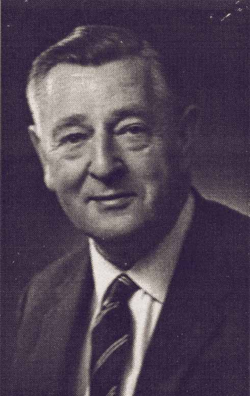Geoffrey Tice, who would have led the wartime Resistance men in Ferndown