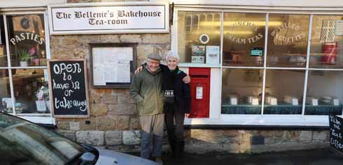 James and his wife Sandy in Abbotsbury. Earlier this year they were at Simpsons on the Strand where James collected the title of Oldie Scientist of the Year at the Oldie awards.