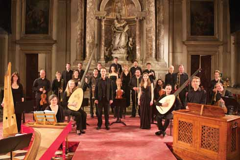 I Fagiolini will perform a semi-staged version of Monteverdi's Orfeo in Wareham as part of their 30th anniversary  celebrations