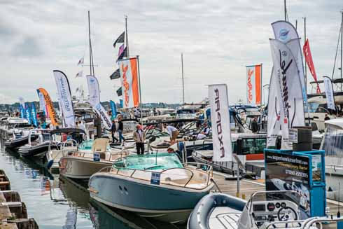 The Poole Harbour Boat Show will once again be held but will stretch from Poole Quay Boat Haven to the commercial port (Image: Phillip Hartley)