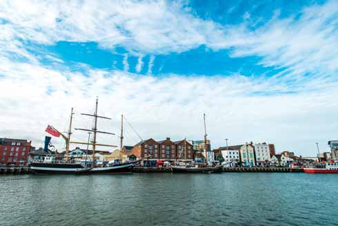 Tall ships will once again be at Poole Quay for the performances  of  CARGO.