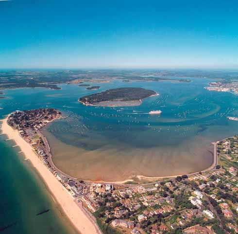 Poole's harbour was just one of the natural and man-made marvels of the town that led to its being chosen to host the EMD
