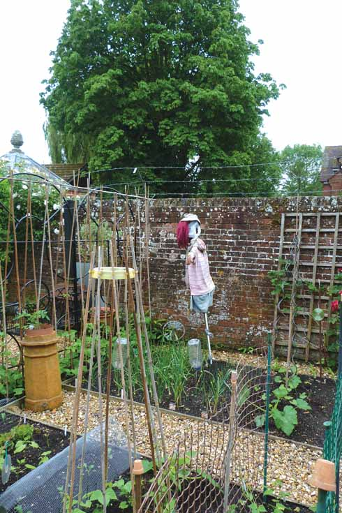 The walled vegetable garden at Eastway House