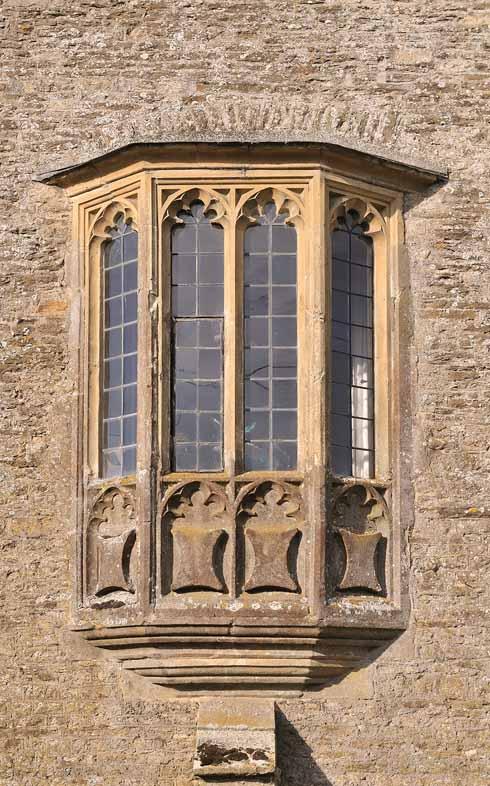 The oriel window