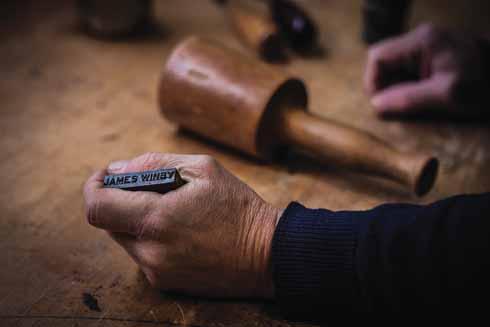 The craftsman's stamp