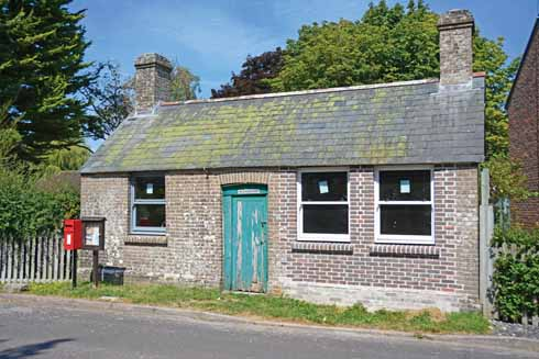 The village hall, location for short-mat bowls, table tennis and keep fit... as well as the annual parish meeting