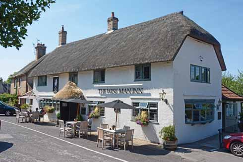 The 400-year-old building that became the Wise Man pub used to be an estate cottage, but became a public house 80 years ago next year, when it will also be a decade since its re-opening following a catastrophic fire in 2006