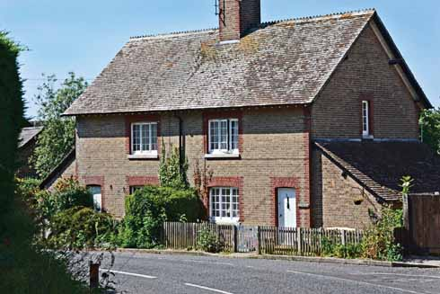 In what must have once been a very convenient arrangement, School House is next to the village pub