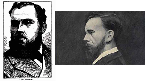 Two images of a rather less edifying expert on poisons from Bournemouth:  Dr George Lamson, who, in 1882, was executed on the testimony of the country's then expert toxicologist